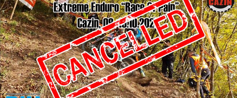 """Extreme Enduro """"Race Of Pain"""", Cazin, 09.-10.10.2021."""
